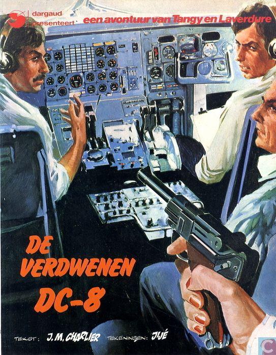 16 - Tangy en Laverdure - De verdwenen DC-8