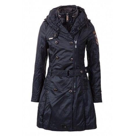 Palton Dama Khujo Bleumarin Samantha