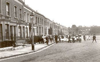 The original Azenby Road c.1900, now mostly Warwick Gardens
