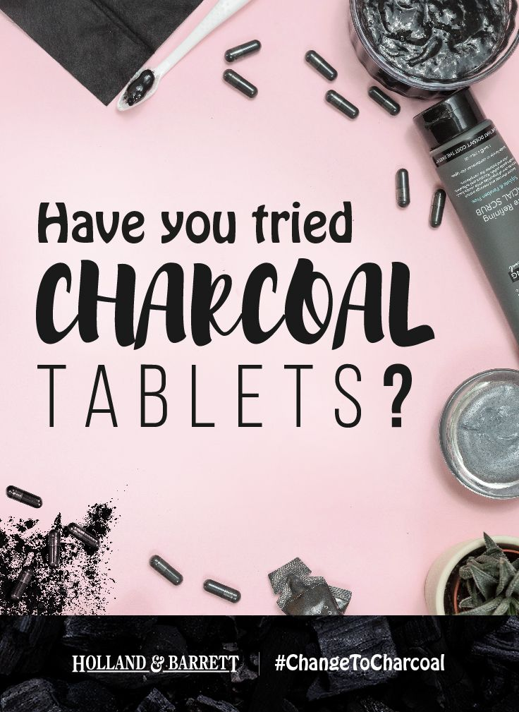 Not only great for beauty, did you know activated charcoal tablets are a natural remedy that can help with gas? #ChangeToCharcoal