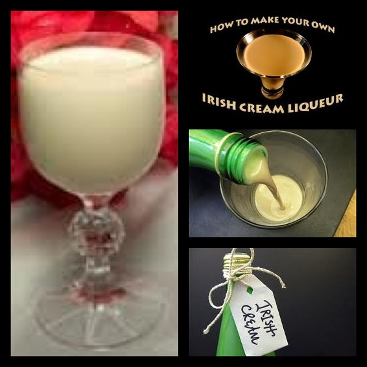 DIY IRISH CREAM LIQUER: 1c pouring cream; 1 tin sweetened condensed milk; 1  2/3c Irish Whiskey; 1 tsp espresso coffee*;  2 tbsp chocolate syrup; 1 tsp vanilla extract; 1 tsp almond extract. Combine all ingredients in a blender & blend at high speed for 30 seconds. Place in a tightly sealed & scrupulously clean bottle & refrigerate. Shake well before serving. Liqueur will keep for 2 months if refrigerated. CHEERS!