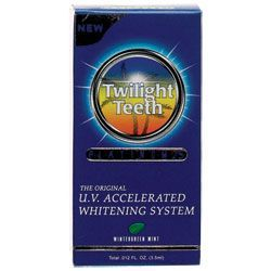 UV Tanning Bed Teeth Whitener: Twilight Teeth Whitening System Review
