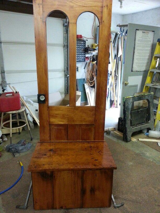 Old. Door bench & 50 best Old door benches images on Pinterest   Woodworking Home ...
