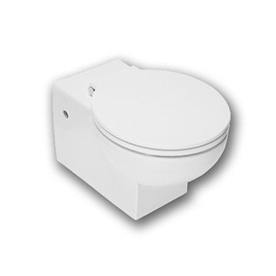 Wall hung toilet - Production of designer sanitary appliances in ceramic, bathroom furnishings and accessories - Hatria Srl