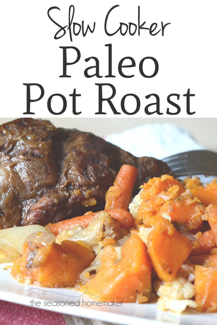 Try this new version of an old favorite. I use a couple of unusual ingredients for a new twist on comfort food. The easiest dinner you'll ever make is Slow Cooker Paleo Pot Roast.