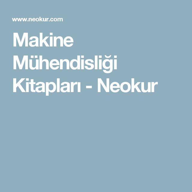 Makine Mühendisliği Kitapları - Neokur