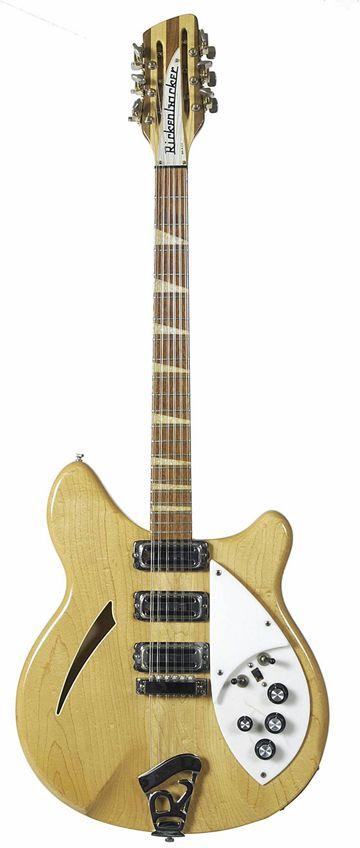 Byrds Roger McGuinn 12-String Rickenbacker. The only 12-string Rickenbacker