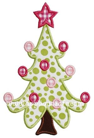 Christmas Tree Templates For Sewing