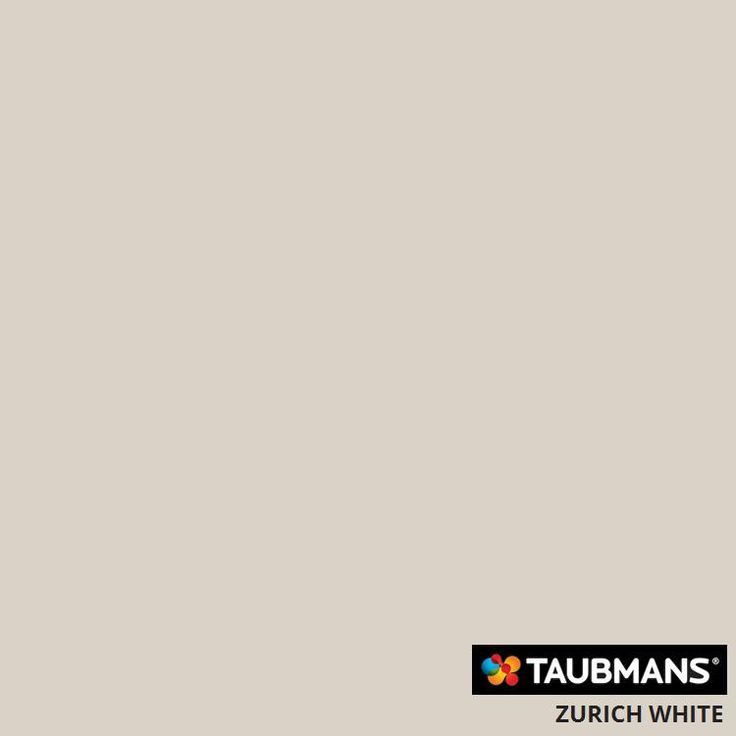 #Taubmanscolour #zurichwhite