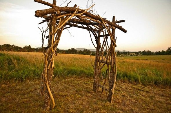 1000+ Ideas About Rustic Arbor On Pinterest