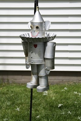 "tin can Tin Man.. I ""need"" this!!! Love it!Repurpose"