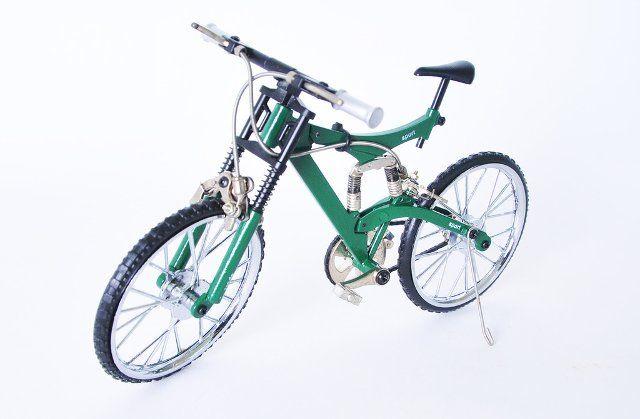 Metal Dağ Bisikleti Maket & Biblo