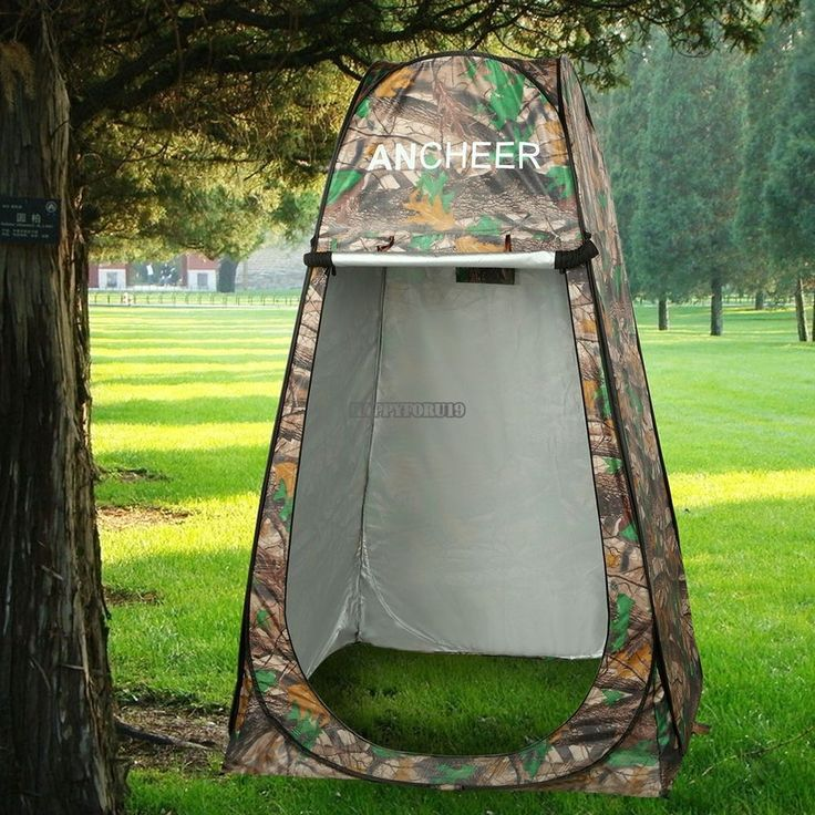 Ancheer Camouflage Pop Up Dressing Changing Room Toilet Shower Tent With Bag USA #Ancheer #TradeShowsClothingVendorsWithBoothsataStreetFairetc