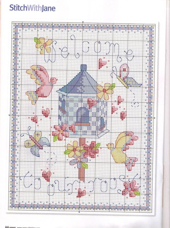 Gallery.ru / Фото #15 - Cross Stitch Crazy 147 - WhiteAngel