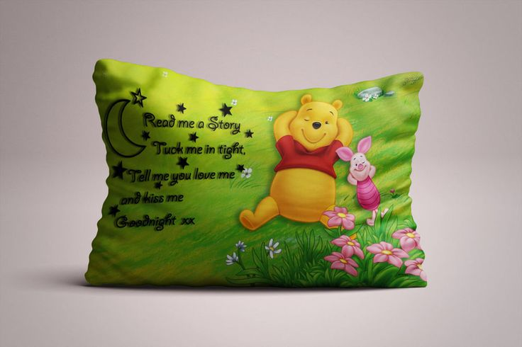 """BEST Winnie The Pooh Sleeping Quote Print On Pillow Case 16""""x24"""" One Side #Unbranded #Modern #Cheap #New #Best #Seller #Design #Custom #Gift #Birthday #Anniversary #Friend #Graduation #Family #Hot #Limited #Elegant #Luxury #Sport #Special #Hot #Rare #Cool #Top #Famous #Pillow"""