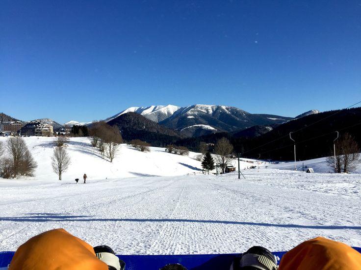 Snowboarding in Slovakia