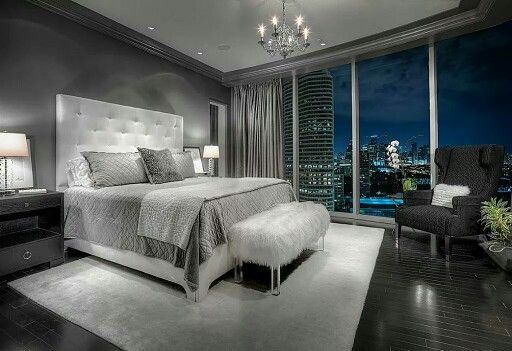 Shades of grey master suite