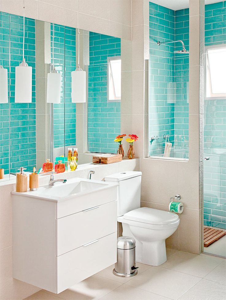 1000+ images about piso e revestimento on Pinterest  Ceramica, Madeira and Ems -> Banheiro Pequeno Com Dois Tipos De Revestimento