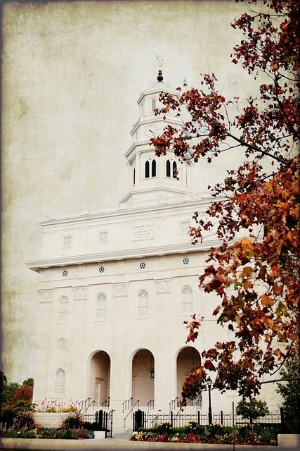 Free down-loadable LDS artwork/quotes.Nauvoo Temples, Autumn Leaves, Beautiful Places, Wonder Places, Lds Temples, Temples Art, Free Printables, Mormons, Free Lds