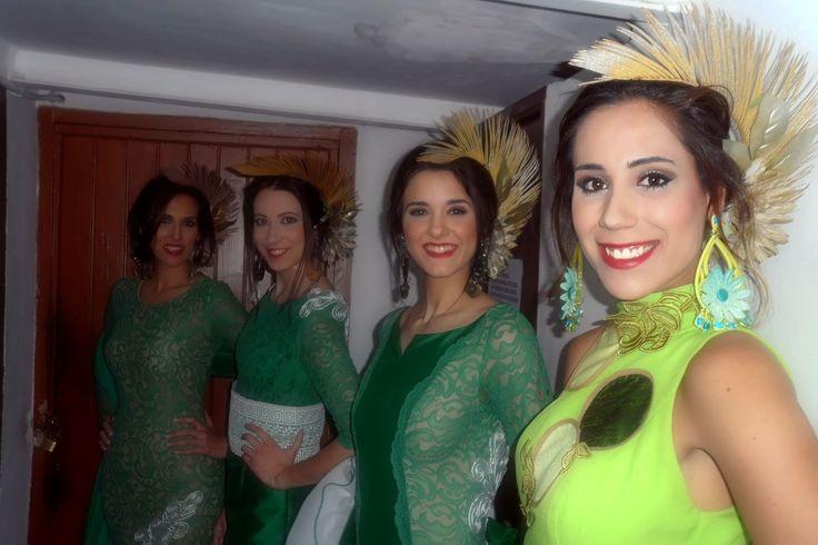 """Mis Queridas Fashionistas: Backstage Francisco Tamaral Colección Flamenca 2016 """"Gualdaquivir"""""""