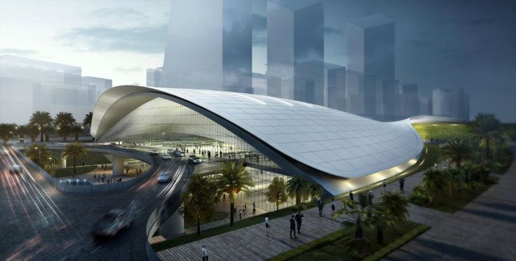 nice Farrells Wins Competition to Desing Singapore's New High-Speed Rail Terminus Check more at http://www.arch2o.com/farrells-wins-competition-desing-singapores-new-high-speed-rail-terminus/
