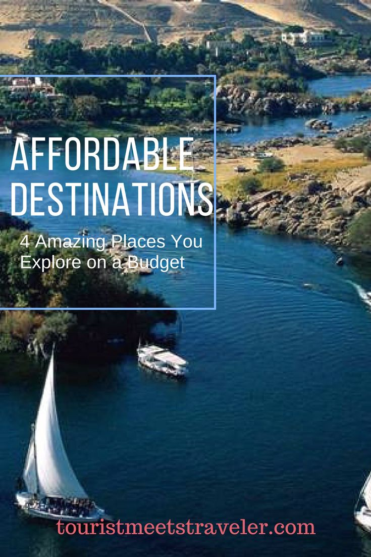 Vacations, trips, and exploring the world may seem financially unfeasible, but thanks to current markets, these affordable destinations will be 4 amazing places you can explore on a budget.