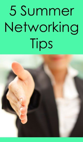 5 Summer Networking Tips
