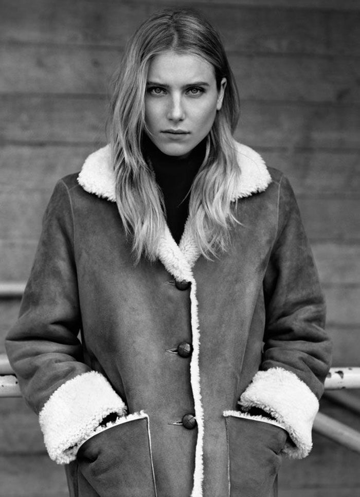margarethowellcampaign1 Margaret Howell Fall 2011 Campaign  | Dree Hemingway by Alasdair McLellan