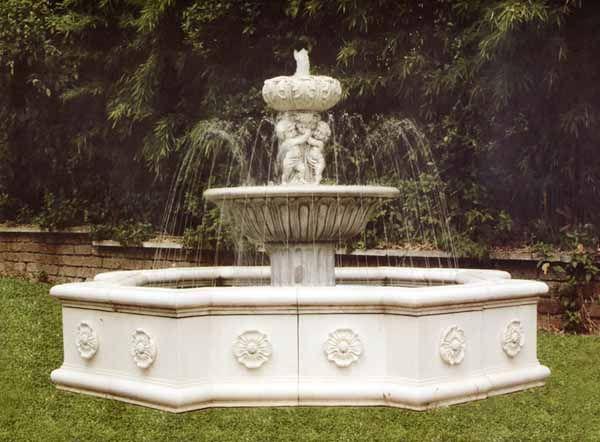 Large Italian Marble Garden Fountain Cast Stone Garden Fountains Large  Garden Fountain Monumental Fountain Estate Fountain