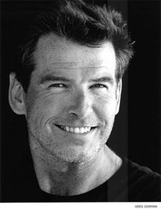 """""""I don't see myself as Hunk of the Month."""" Pierce Brosnan"""