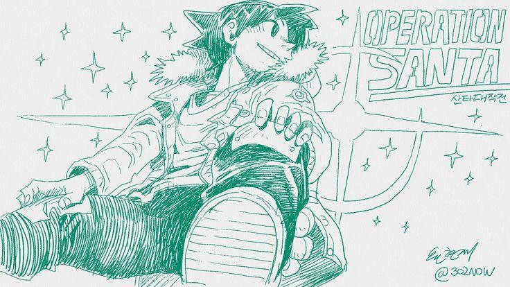 #mahwa #manga #illust #freshpaint #operationsanta #santa #tori #comics #character #산타대작전