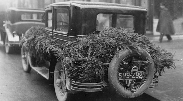 Vintage φωτογραφίες από το χριστουγεννιάτικο Παρίσι - http://ipop.gr/themata/vlepw/vintage-fotografies-apo-christougenniatiko-parisi/