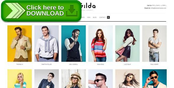 [ThemeForest]Free nulled download Gilda - Fashion Model Agency WordPress CMS Theme from http://zippyfile.download/f.php?id=13642 Tags: actors, agency, casting, club, dancers, erotic, escort, fashion, fashion expo, fashion modelling, men modelling, models, photography, talent agency, talent portal