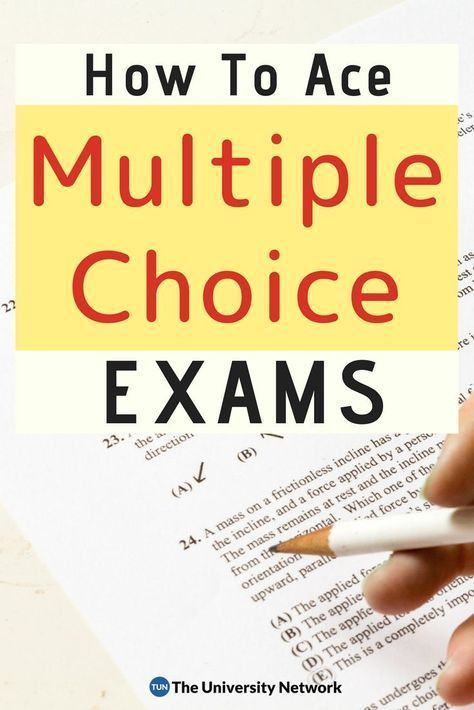 How to Ace Multiple Choice Tests   College life   Test
