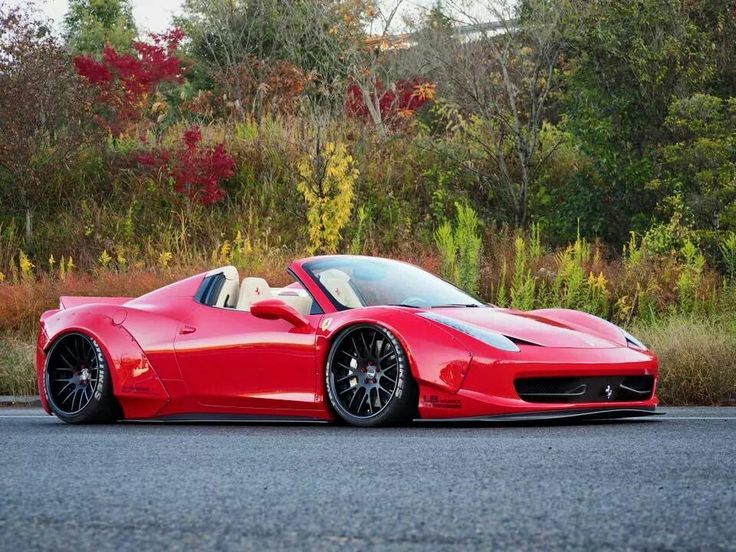 Ferrari 458 Italia Spyder by LB*Works..