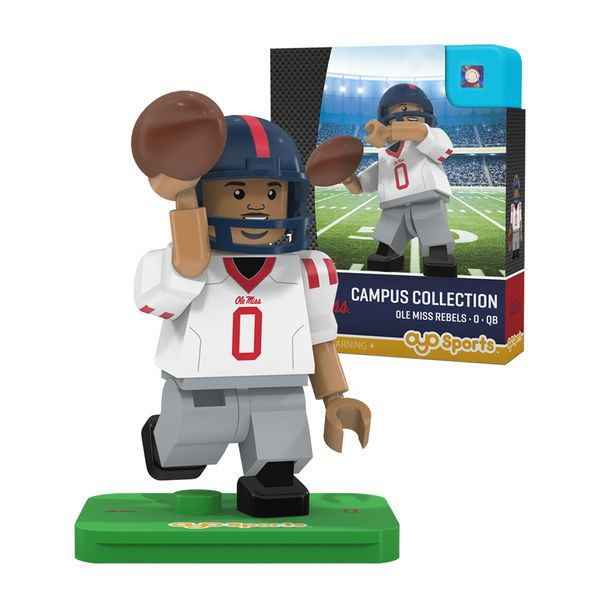 #0 Ole Miss Rebels OYO Sports Generation 2 Campus Collection Minifigure