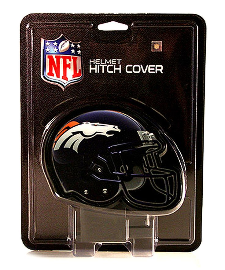 Look at this Denver Broncos Car Hitch Cover on #zulily today!