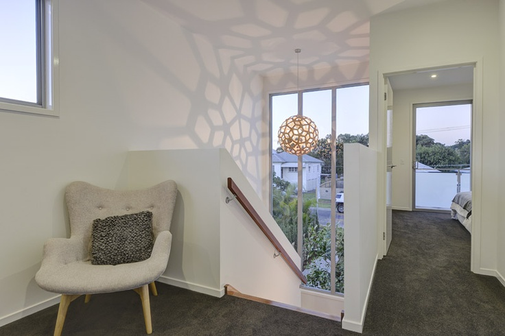 Beautiful feature window for natural light
