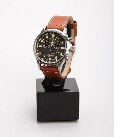 Timex x Red Wing Shoes The Waterbury Chronograph Watch 42mm – Skor online - Lester Skor Online