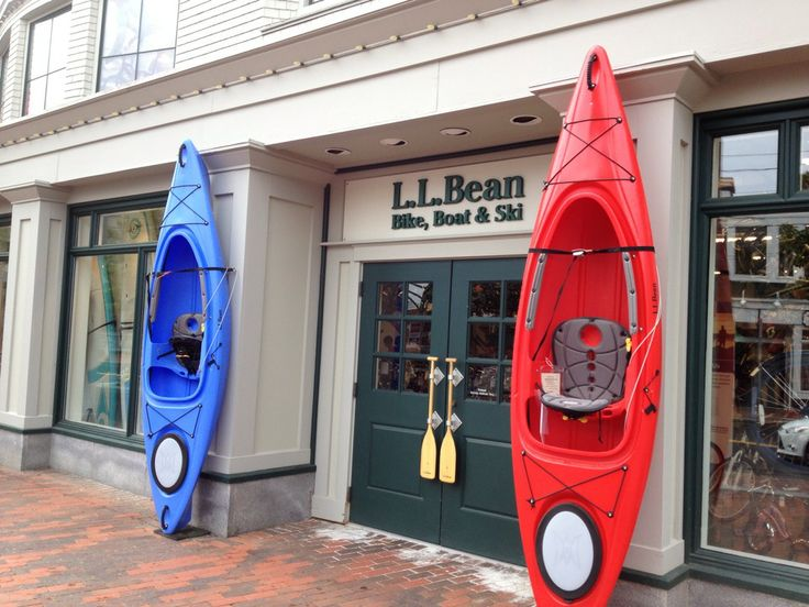 LL Bean main store in Freeport, ME. There is lots more to see in Freeport too!