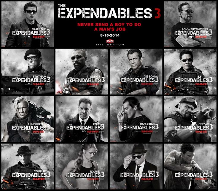 The Expendables 3 Trailer is Going to Give You Goosebumps Immediately! #Expendables3 #TheExpendables3
