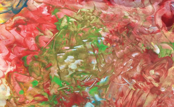 Joy of Spring, 2014 by Charlotte Ambrose. Abstract Expressionist