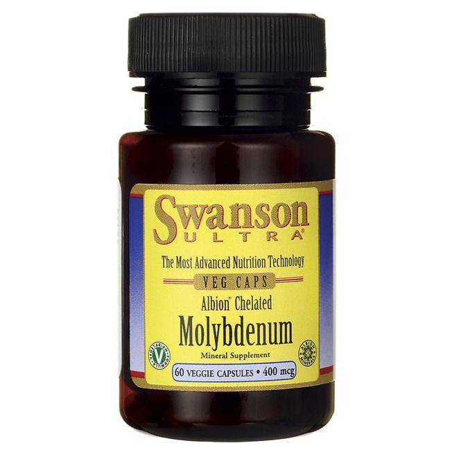 Swanson Albion Chelated Molybdenum 400 mcg 60 Veg Caps #SwansonUltra