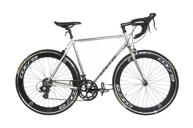 "Alton Corsa R-14D 700C Deep-Dish Rim Road Bike, Silver, 22.8""/Large. The world's first used dp-780 frame. It is lighter, stronger, and less cost than choro-moly 4130. Slick and smooth intelligently designed new dp-780 frame that is Super lightweight but strong weighing at 24 lbs. Newly innovated 14 speed Shimano st-a070 integrated brake levers for convenient ride. Racing frame that is perfect on the road with friends or entry-level performance. Dual Accessory mounts."