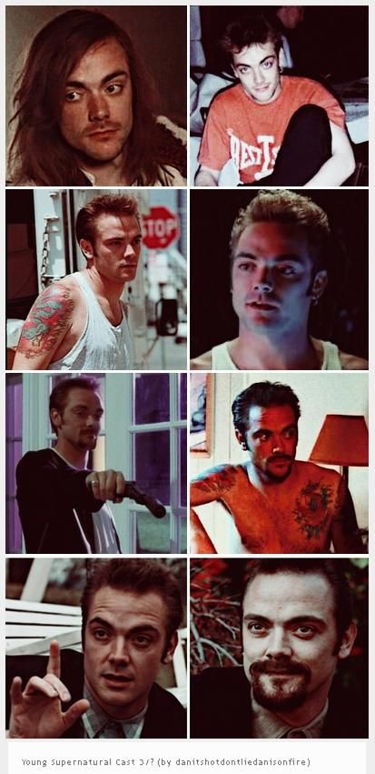 [GIFSET] Mark Sheppard ~ Young Supernatural Cast 3-10 (by ...