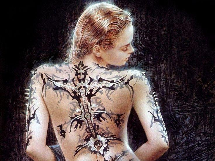 Tattoo HUgos: Tattoo Girl Wallpaper
