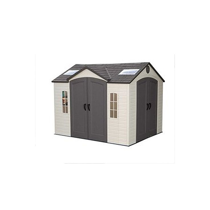 lifetime products 8 ft x 10 ft resin storage shed lowes canada