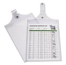 C-Line - Magnetic Hanging Shop Ticket Holders, Clear, 12 x 9 -  15/Box