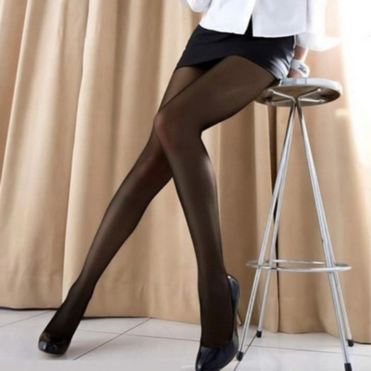 Fashion Women's Soft Stretch Nylon Pantyhose Tights Sexy Stockings Black Wholesale