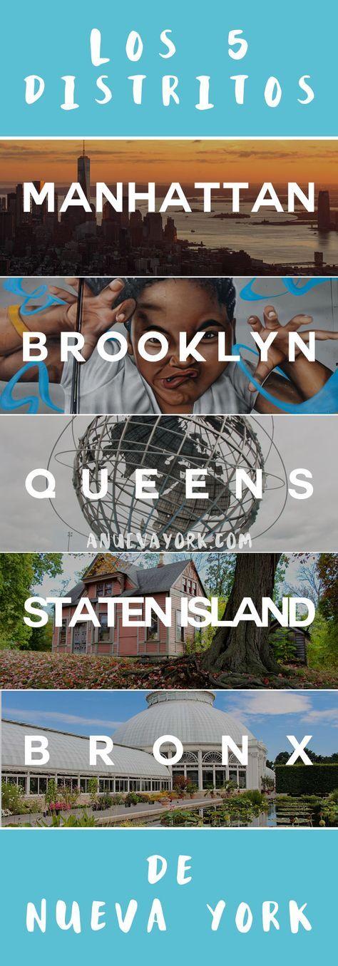 Los 5 distritos de Nueva York – Qué hacer en cada borough